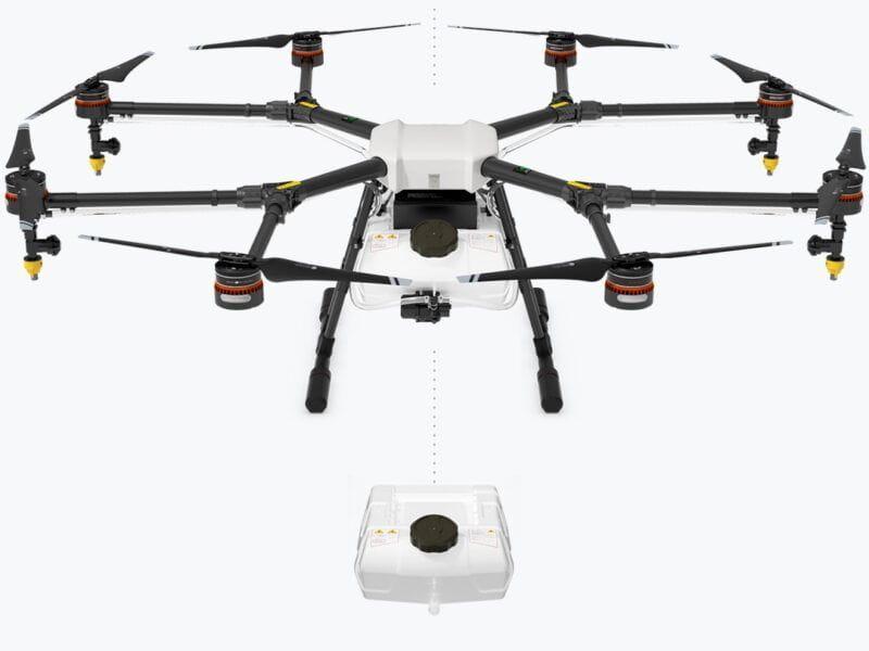 Dron FUMIGACIÓN DJI AGRAS MG-1S para agricultura de precisión