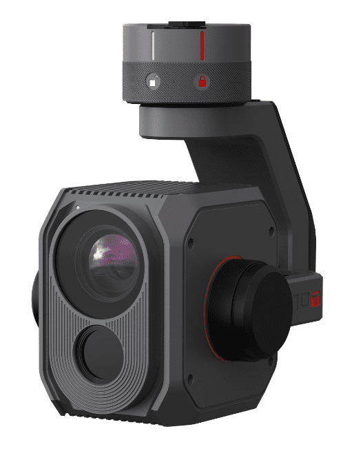 E10TX Camera 320p (FLIR®) thermal and RGB, 34° FOV/ 6.3mm