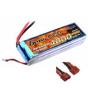 Gens Ace 4000mAh 11.1V 25/50C 3S1P Bateria Lipo