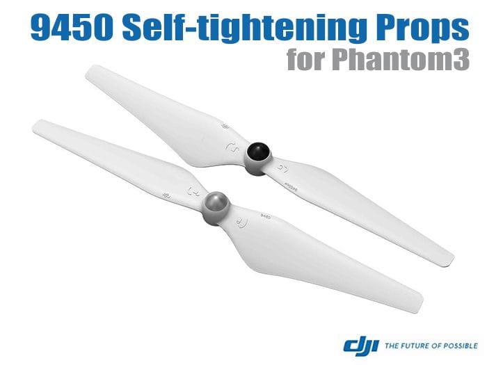 Hélices Phantom 3 9450 Autoapriete (1CW- 1CCW)