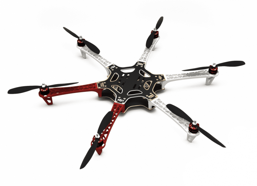Kit DJI F550 + NAZA V2 + GPS + Patin