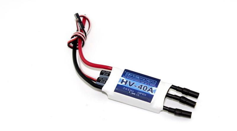 Regulador iPeaka HV 40 Amp 400Hz. 2-6S OPTO, SK Firmware
