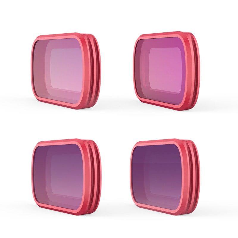 Juego filtros (ND8/PL ND16/PL ND32/PL ND64/PL) para DJI Osmo Pocket