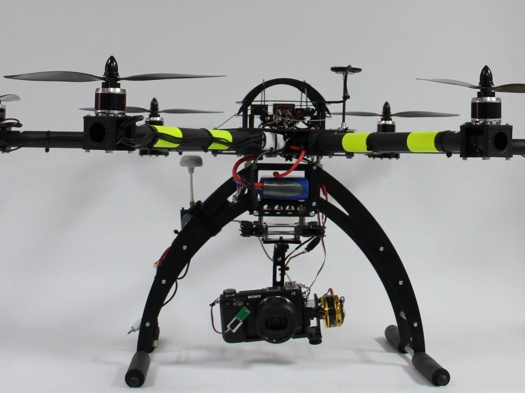 Multicoptero profesional.