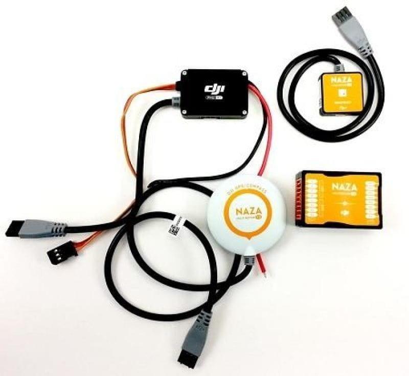 Dji NAZA M V.2 + PMU + Led + GPS V.2 Multirrotores y multicopteros.