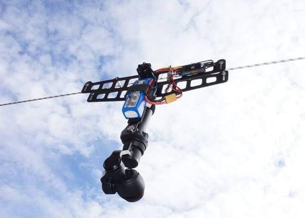 Cablecam completo para DJI OSMO