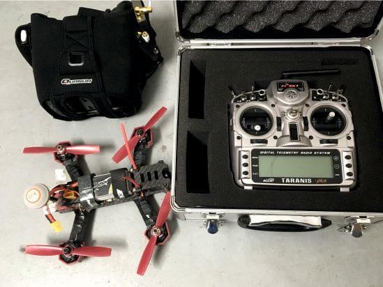 Dron de carreras completo