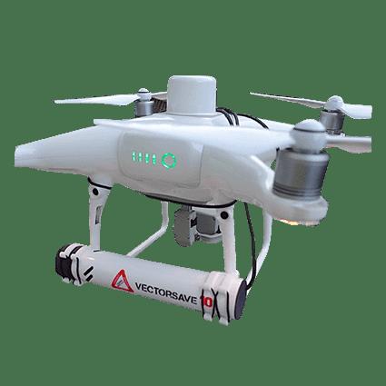Paracaídas VectorSave 10 para dron DJI Phantom 4 RTK