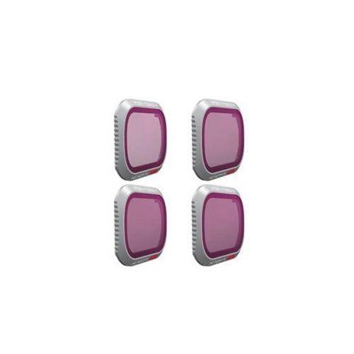PGYTECH Set de Filtros ND8/PL, ND16/PL, ND32/PL, ND64/PL para Mavic 2 Pro