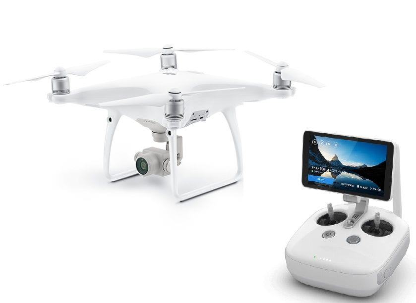 DJI Phantom 4 Advanced Con Monitor de 5.5''