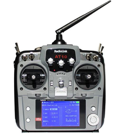 Emisora RadioLink AT 10 Gris de 10 Canales + Receptor 10