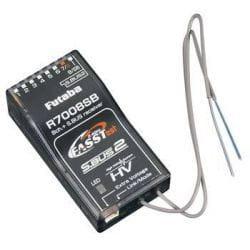 Receptor Futaba R7008SB 8CH, Con telemetria FASST
