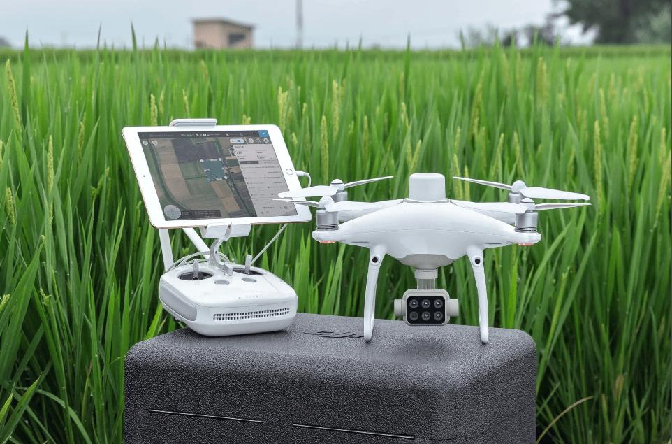 P4 Multispectral. Dron DJI Phantom 4 Multiespectral