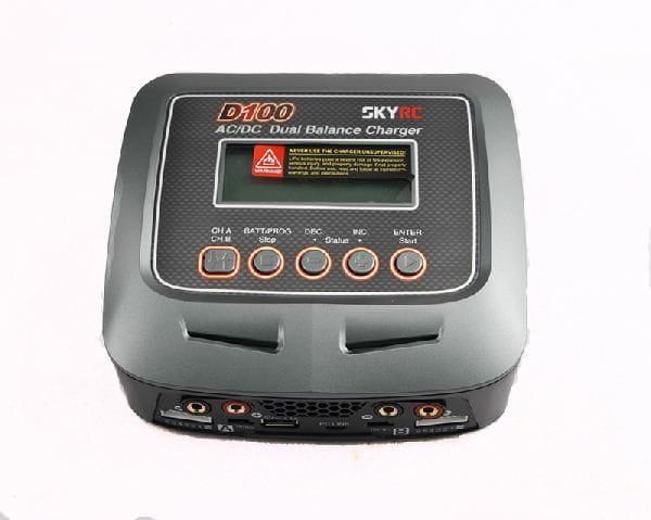 SkyRC AC/DC DUO D100 Pro 2-6S (2x100W) 10Amp
