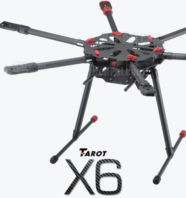 Hexacoptero Tarot X6 TL6X001 - Tren retráctil