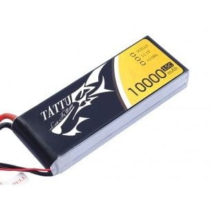GensAce - Tattu 10000mAh 11.1V 15/30C 3S1P Bateria Lipo