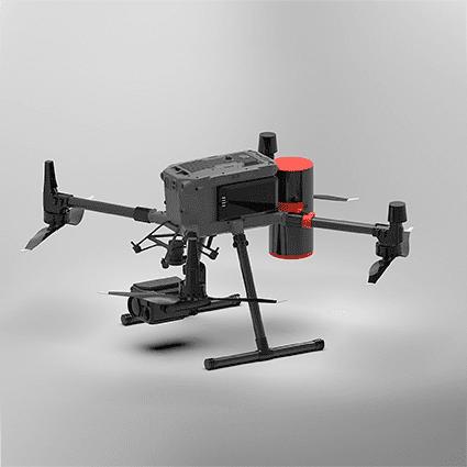 Paracaídas VectorSave 50 para dron DJI M300