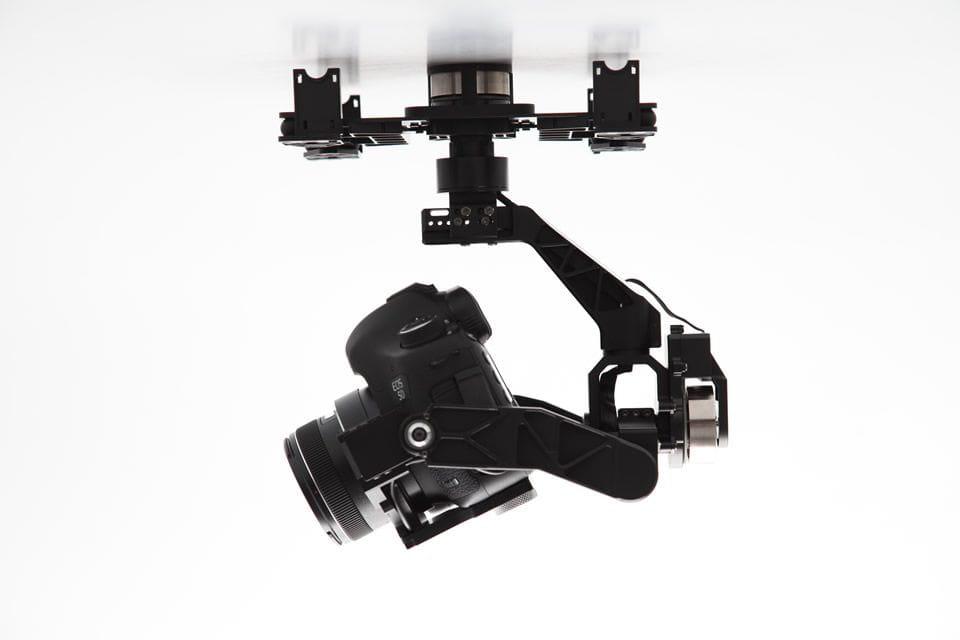 Zenmuse DJI Z15 3-axis Gimbal Profesional Canon 5D Mark III MULTIRROTOR
