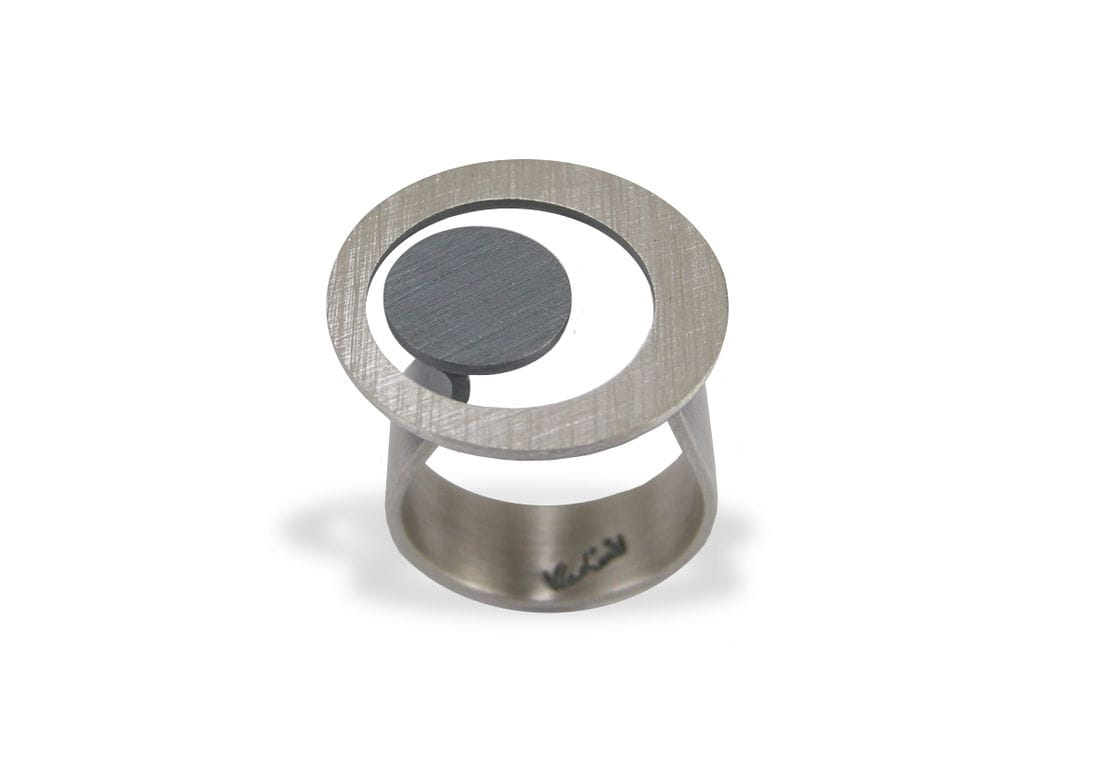 VLADIMIR Sterling silver ring