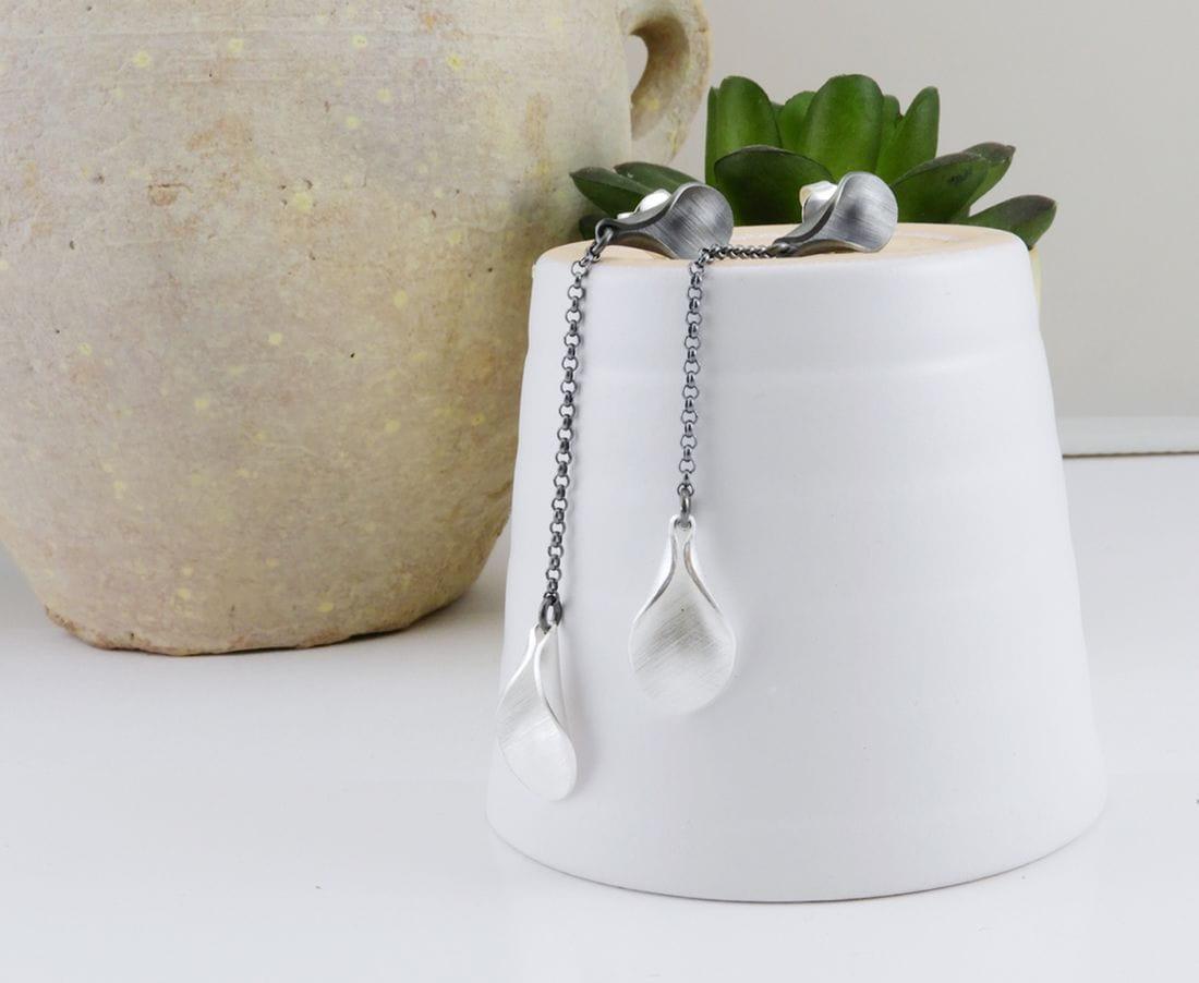 VLADIMIR Sterling silver earrings