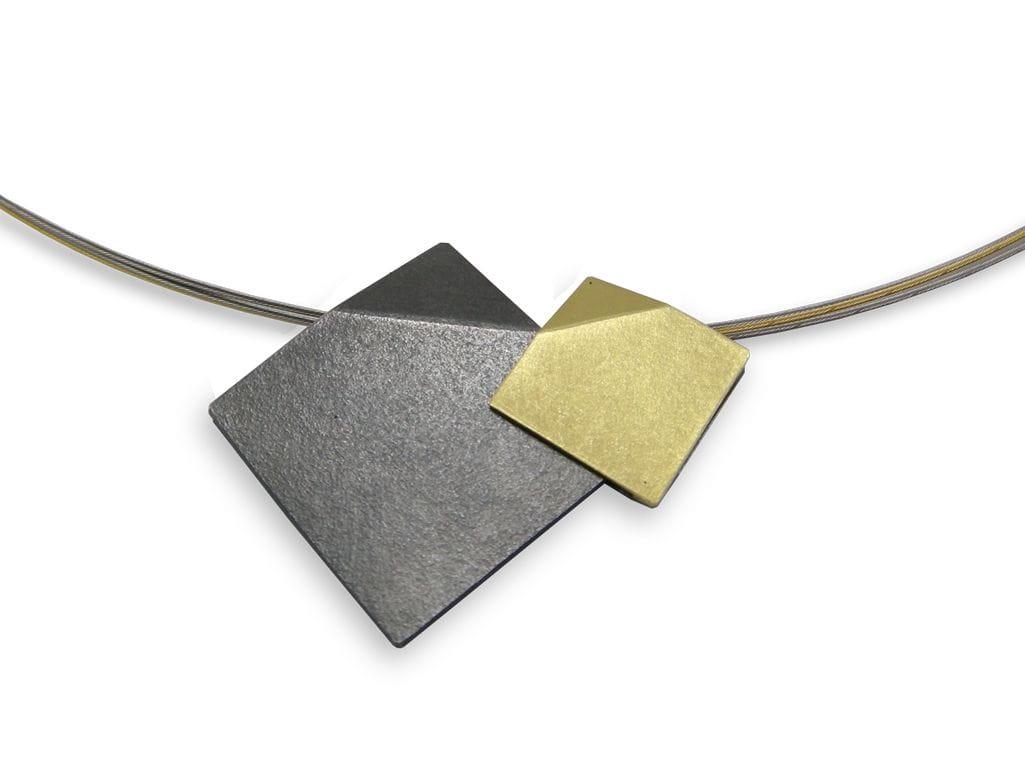 VLADIMIR  Penjoll de plata i or