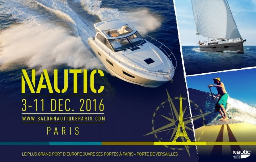 Salon nautique de paris 2016 for Salon a paris 2016