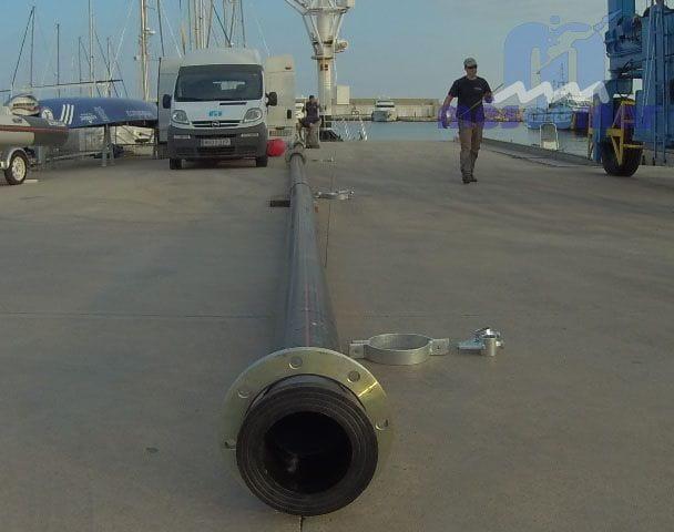 Reparació emisari a la província de Tarragona