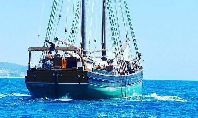 La goleta Äran navegarà per la Costa Brava