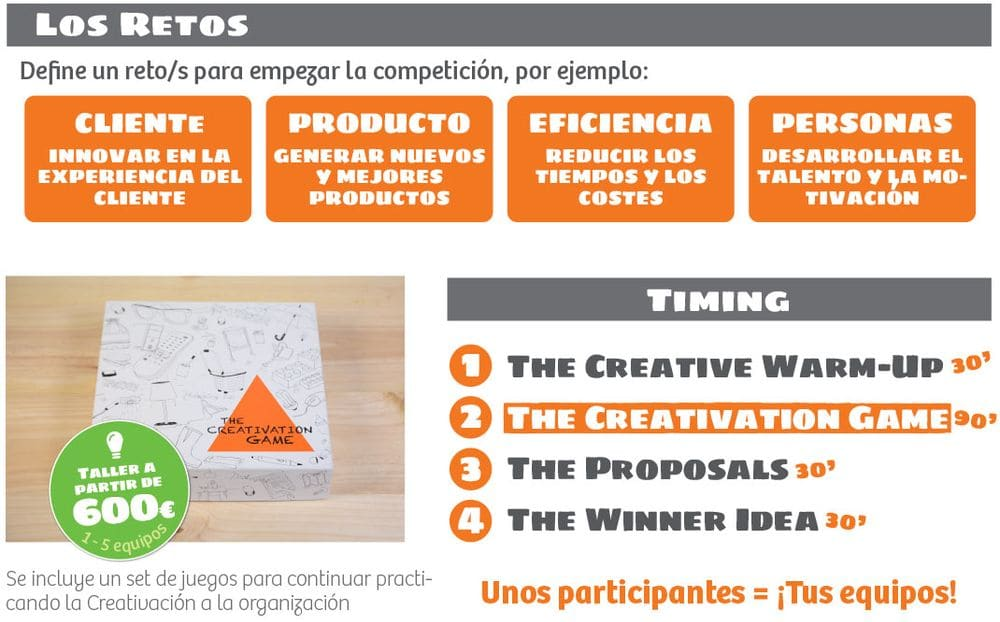 Workshop de creatividad