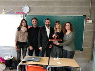 Col·legi Badalonès - premiats Creativation Challenge