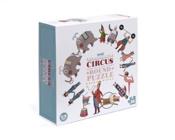 CIRCUS ROUND PUZZLE