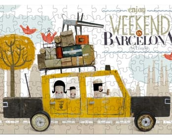 TAXI BARCELONA MICROPUZZLE