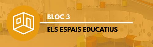 Bloc 3- Els espais educatius