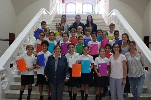 Escola Sagrat Cor de Sarrià - guanyadors repte Reinventem el material escolar - Creativation Challenge