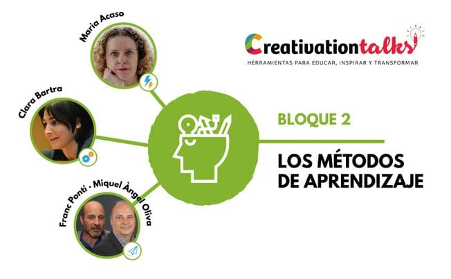 Ponentes Bloque 2 - Creativation Talks