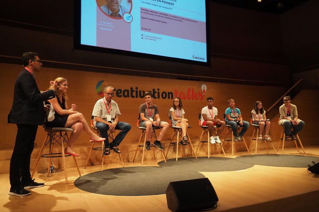 Espai Àgora 4: Inspirant els alumnes del futur - Creativation Talks 2018