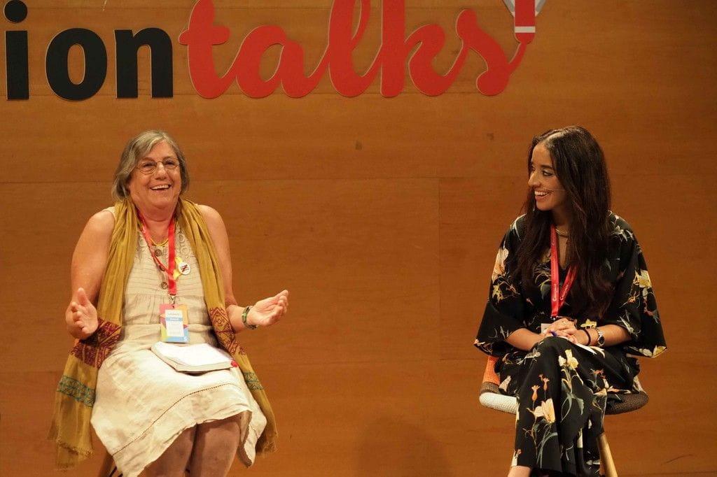Hanan El Yazidi i Maria Majó Clavell - Creativation Talks 2018