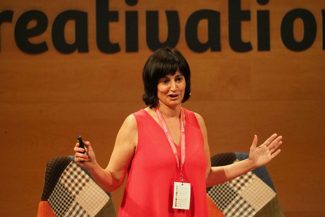 Clara Bartra, directora del Growth Center de GB Foods - Creativation Talks 2018