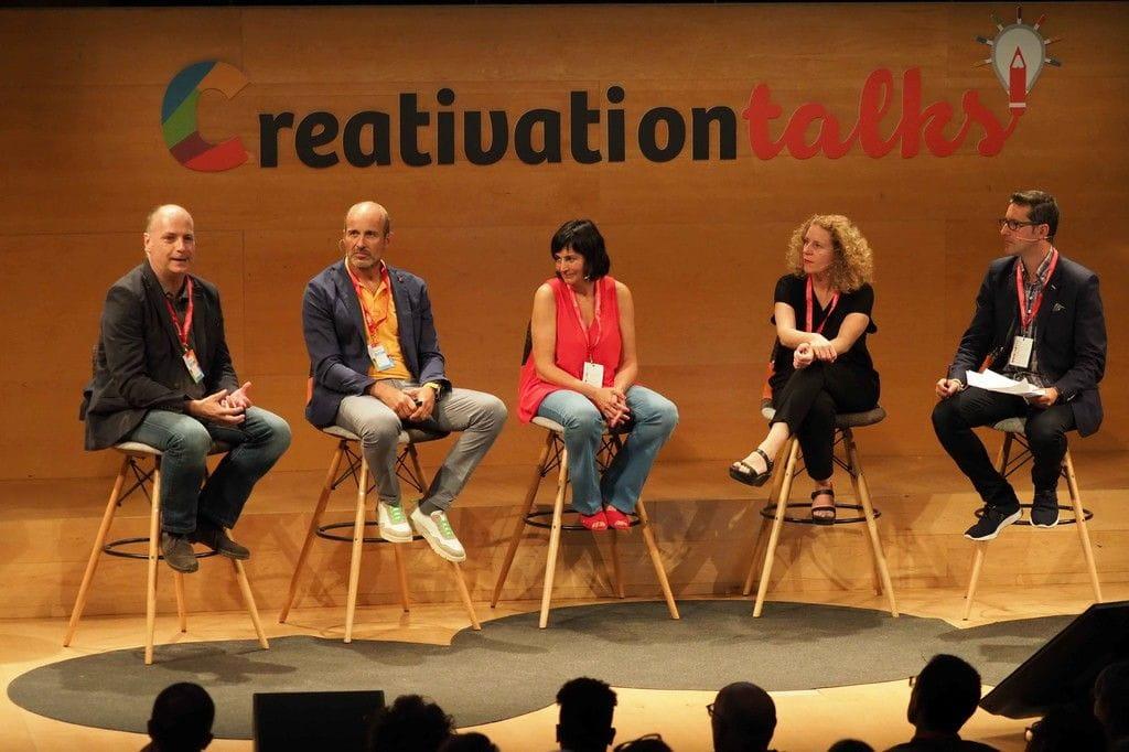 Espai Àgora 2: Mètodes d'aprenentatge innovadors - Creativation Talks 2018