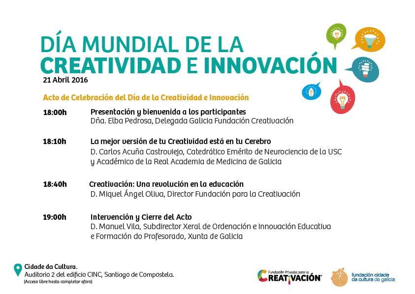 Día Mundial Creatividad e Innovación