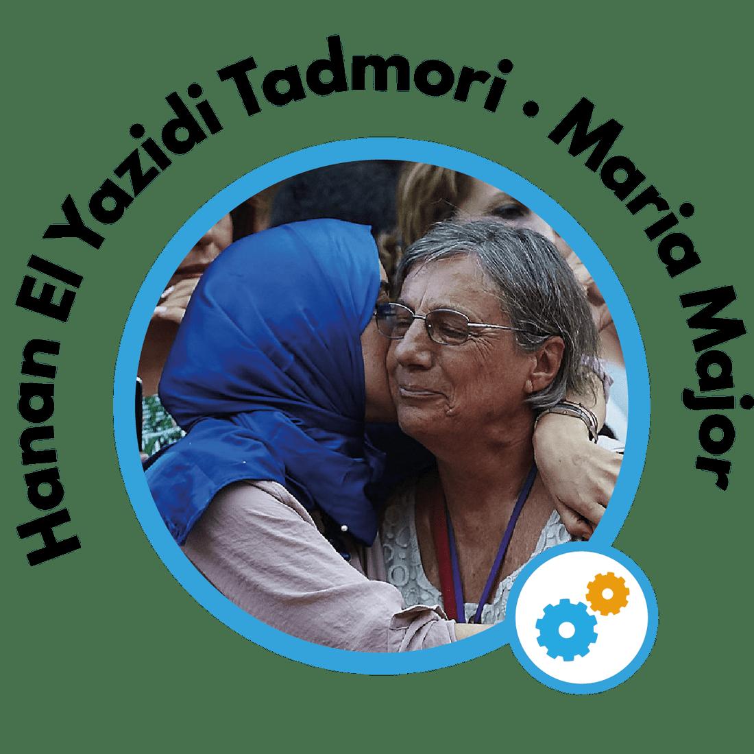Hanan El Yazidi Tadmori y Maria Major