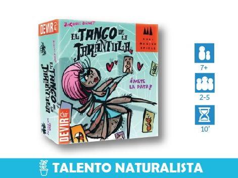 Juego El Tango de la Tarántula