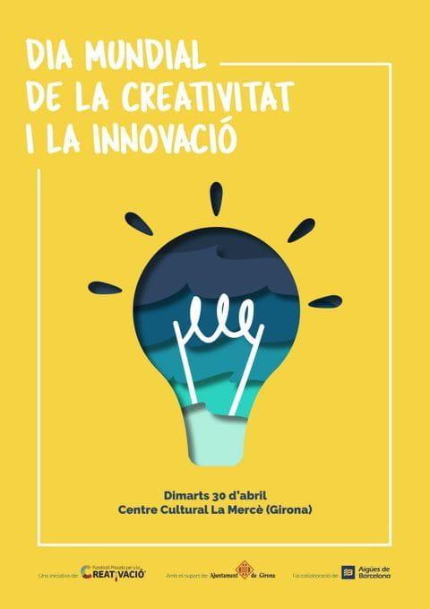 Cartell Dia Mundial Creativitat i Innovació 2019
