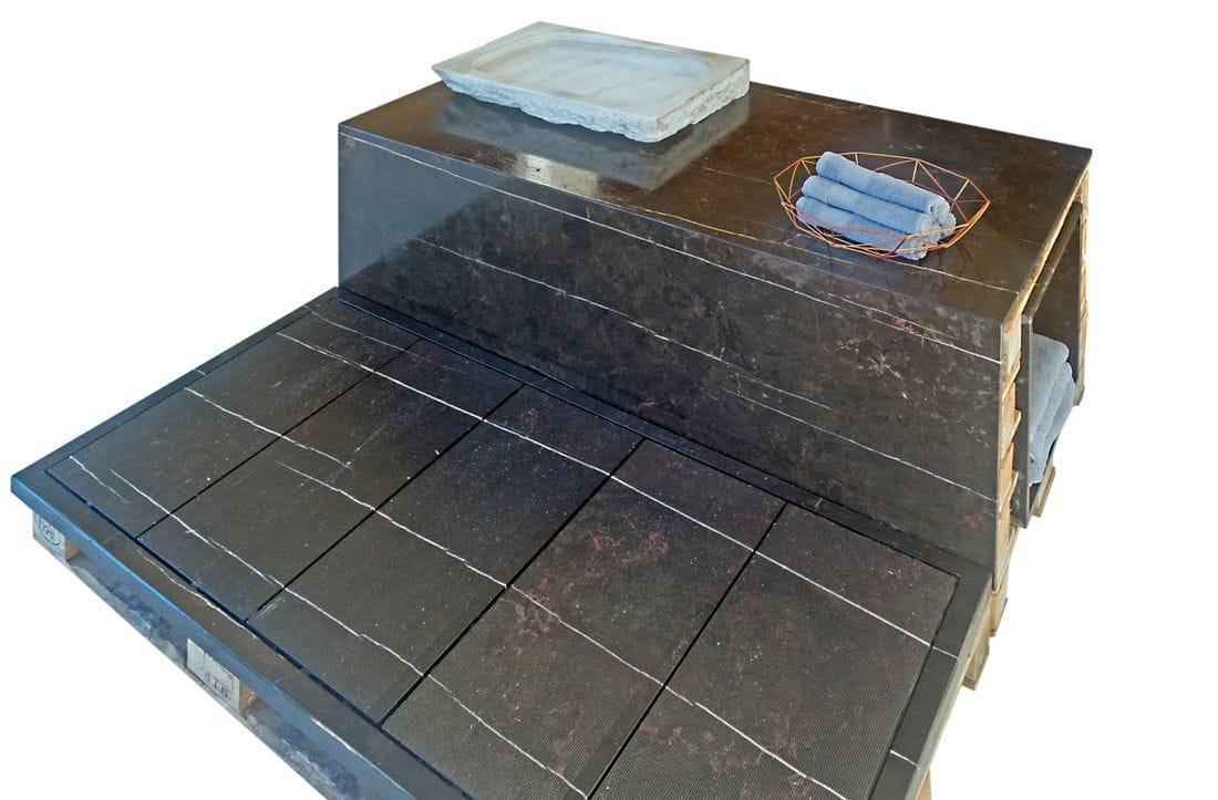 Negro Eclipse Shower tray