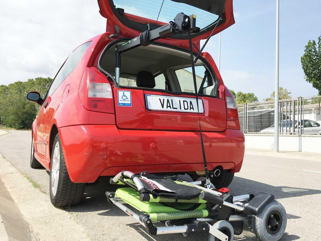 Grúa eléctrica en Citroën C2- Válida Car