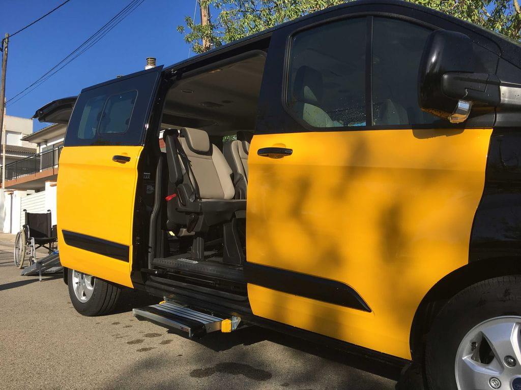 Adaptaci de taxi per a cadira de rodes barcelona v lida car - Cadira barcelona ...