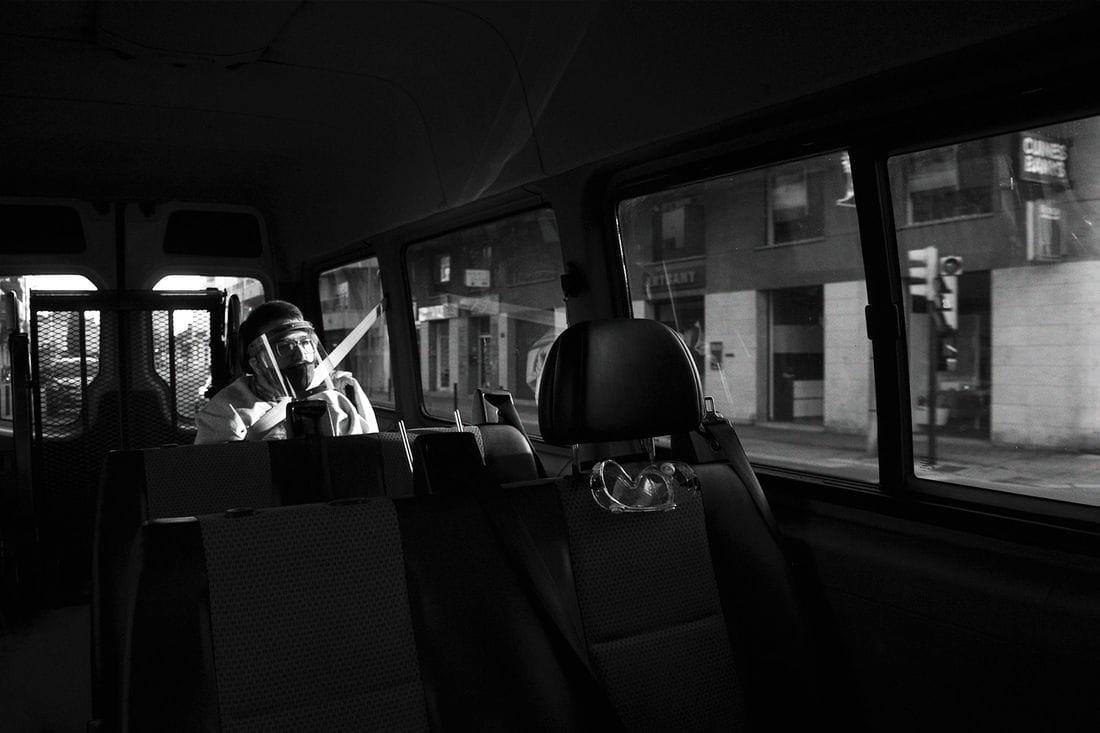 ''Trayecto'' de Oriol Leza