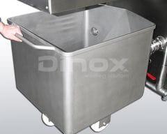 Depósito externo separador de sal.
