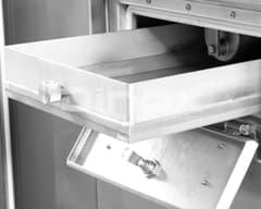 Filtro de cajón extraíble (protección filtro de aspiración).