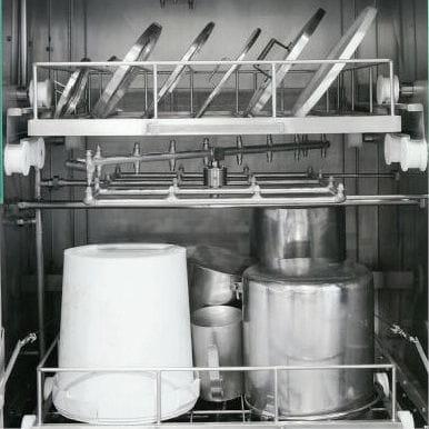 Sistemas opcionales de lavado a mano con espuma